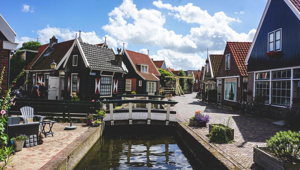 Holland-Rundreise-Volendam