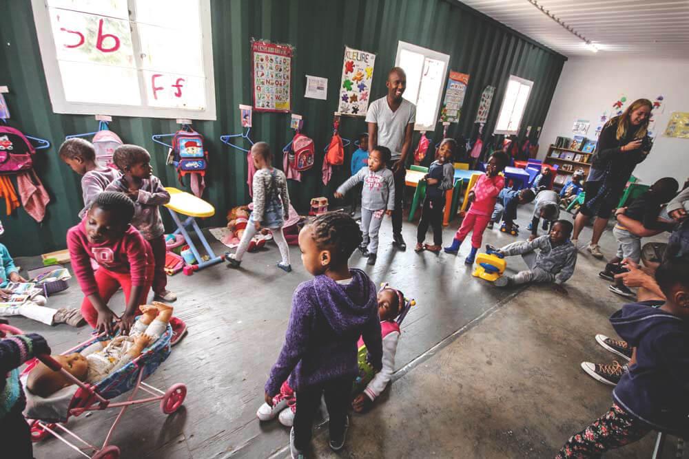Kindergarten-Soweto-Johannesburg-Suedafrika-Township