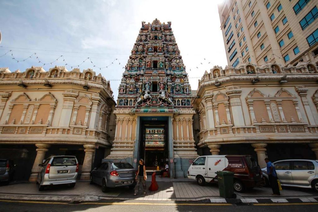 Kuala-Lumpur-Highlights–Sri-Mahamariamman-Tempel-Malaysia