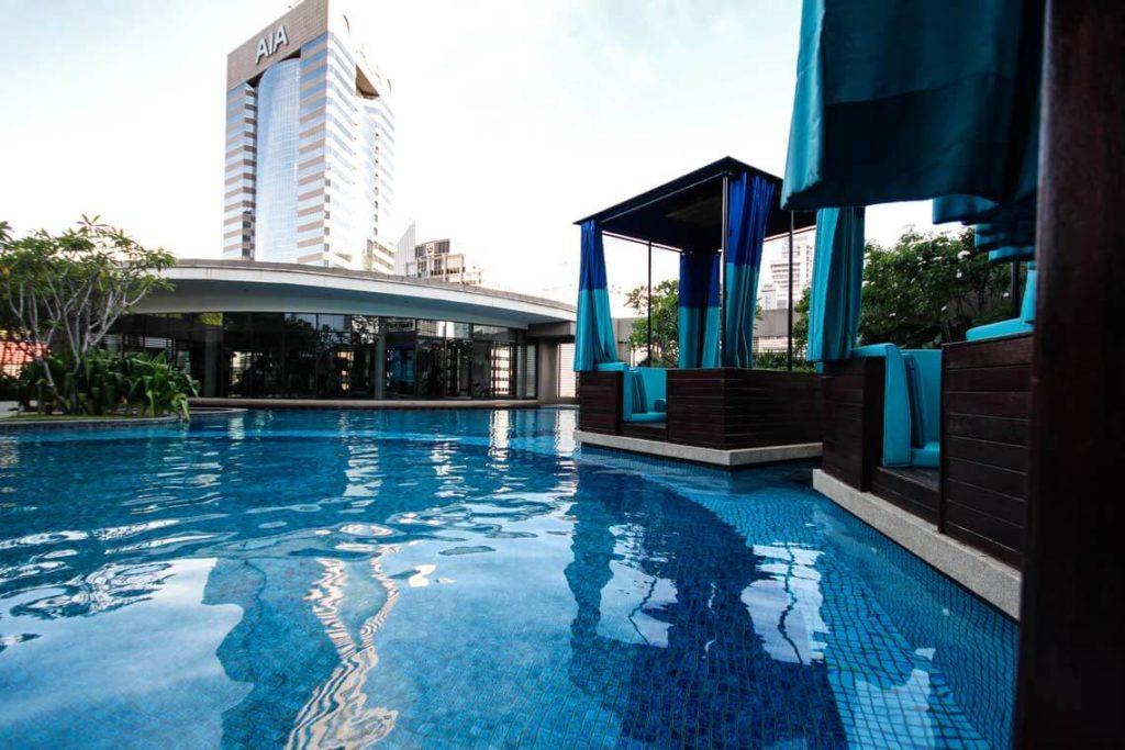 Kuala-Lumpur-Highlights-Airbnb-Unterkunft-Pool-Malaysia
