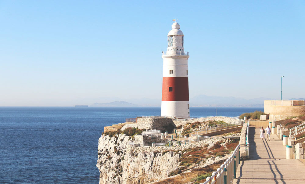 Leuchtturm-Gibraltar-Europa-Point