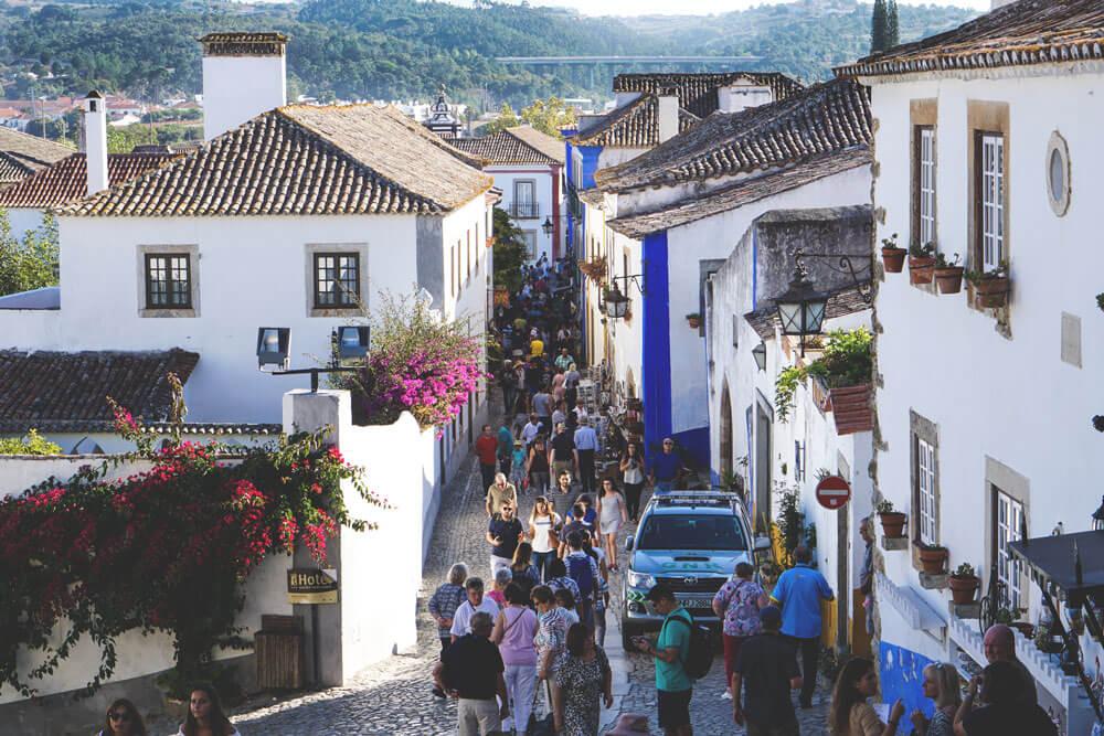 Nomad-Week-Portugal-Stadt-Obidos