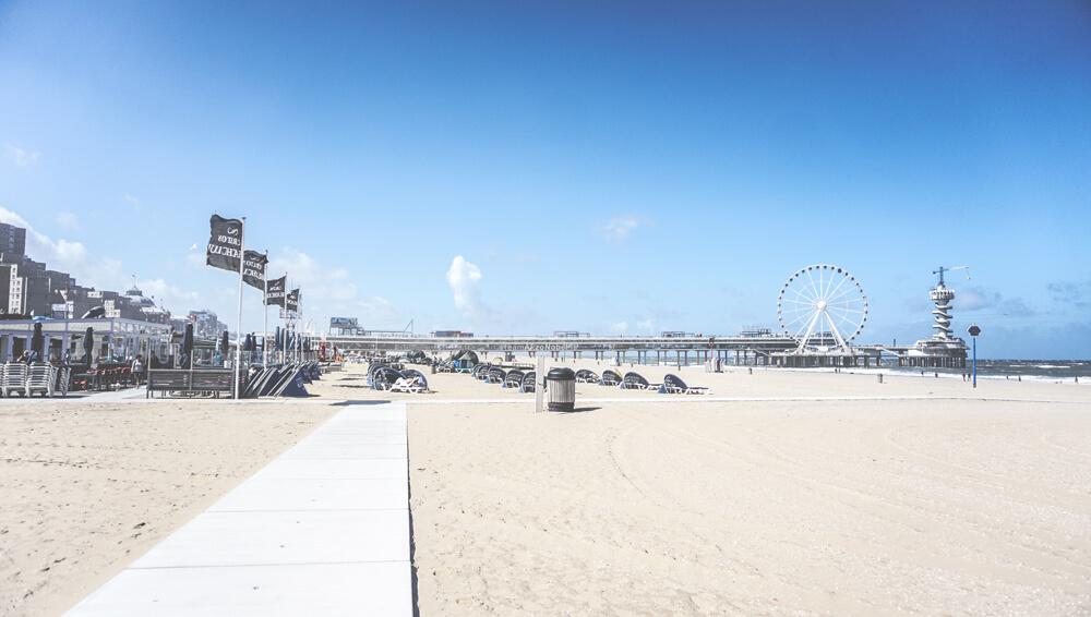 Scheveningen-Strand-Beach-Holland-Niederlande-Pier