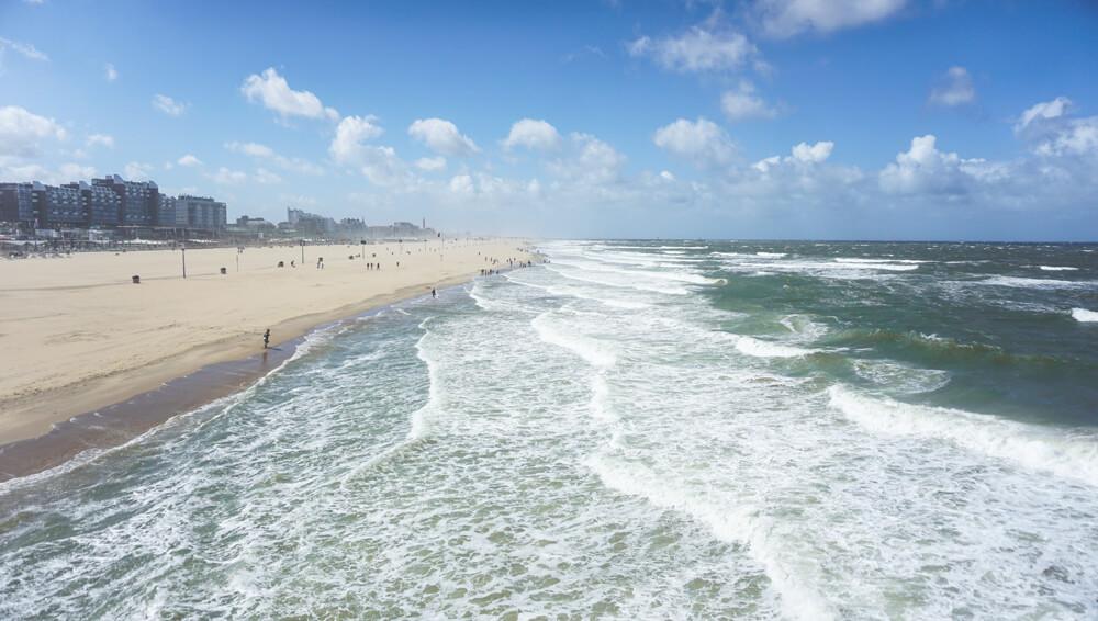 Scheveningen-Strand-Beach-Pier-Aussicht-Niederlande-Holland