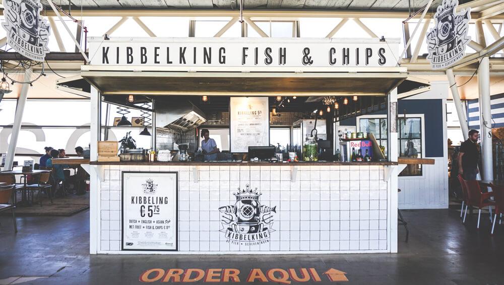 Schevingen-Strand-Beach-Pier-Niederlande-Holland-Foodtrucks