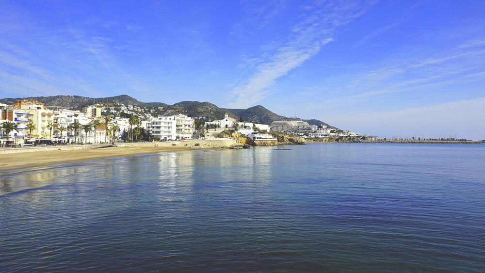 Sitges-Strand-Barcelona-Spanien-Ausflug