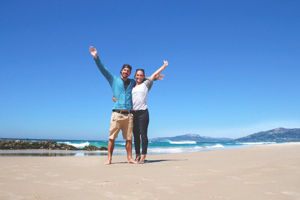 Tarifa-Spanien-Andalusien-ankunft-Bolle-Maro-Strand-Atlantik-Surfen