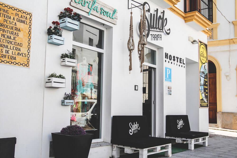 Tarifa-Spanien-Andalusien-Altstadt-Sulok-Hostel