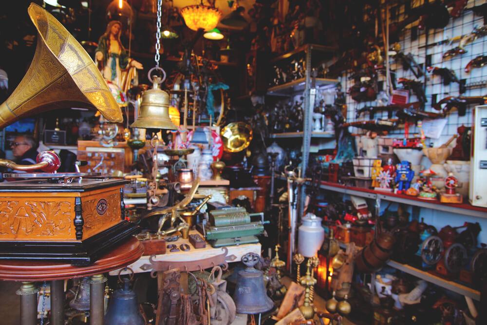 Vintage-Retro-Markt-Barcelona-Mercat-Del-Encants