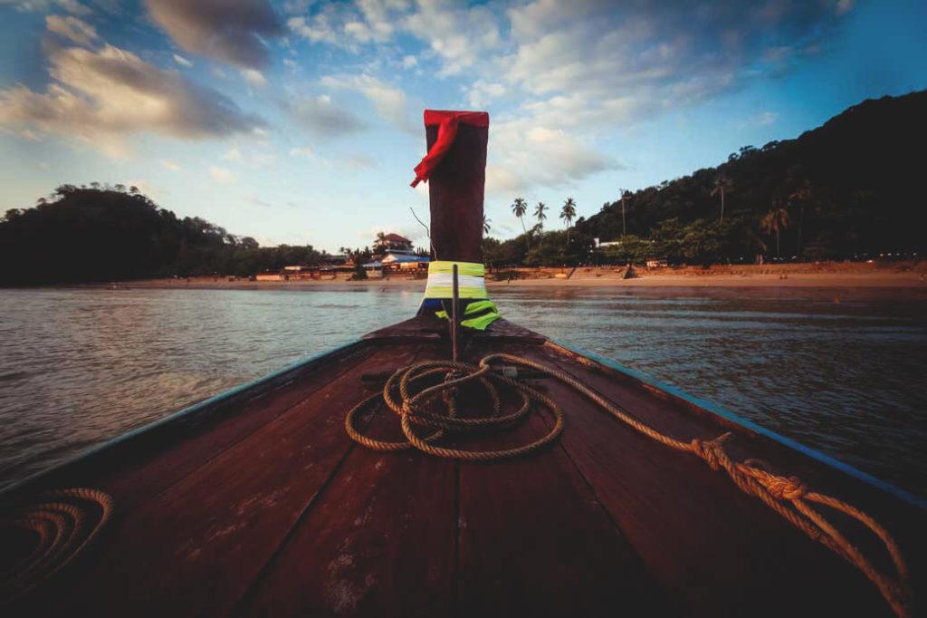 Anreise-Thailand-Railay-Beach-Longtail-Boot