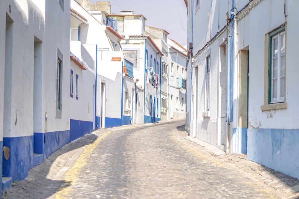 Ericeira-Portugal-Gasse