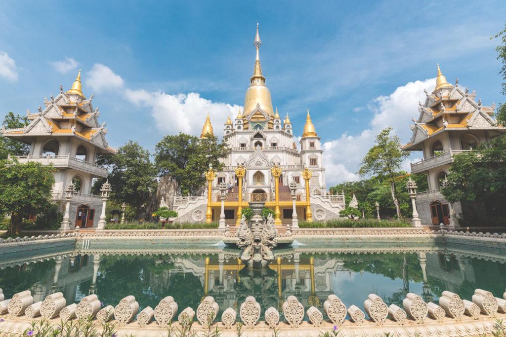 Vietnam Sehenswürdigkeiten  Saigon Buu-Long-Pagode