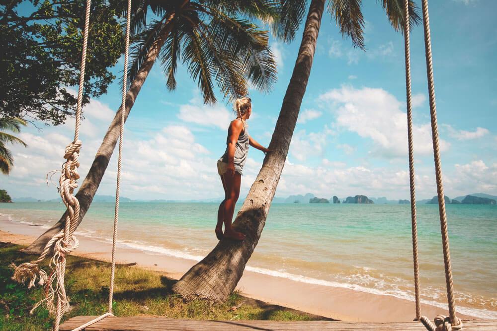 Strand-Koh-Yao-Noi-Thailand-Palmen-Trauminsel
