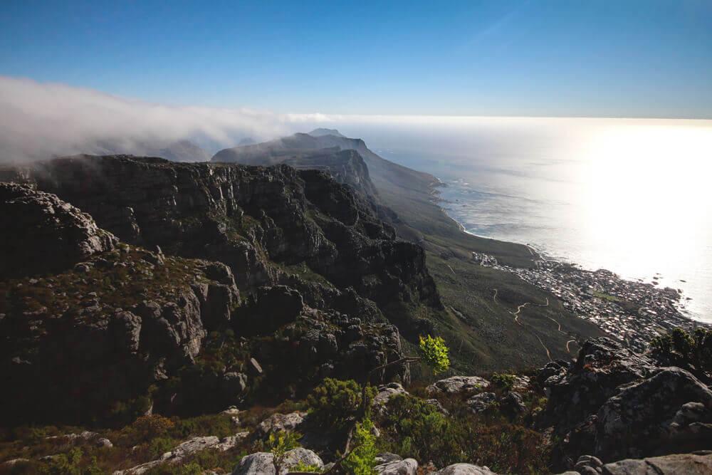 Tafelberg-Wanderung-Kapstadt-Aussicht