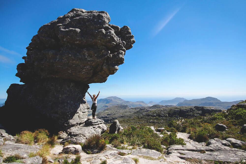 Tafelberg-Wanderung-Kapstadt