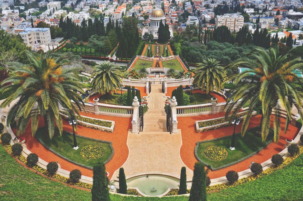israel-sehenswuerdigkeiten-haifa-bahia-gaerten (1)