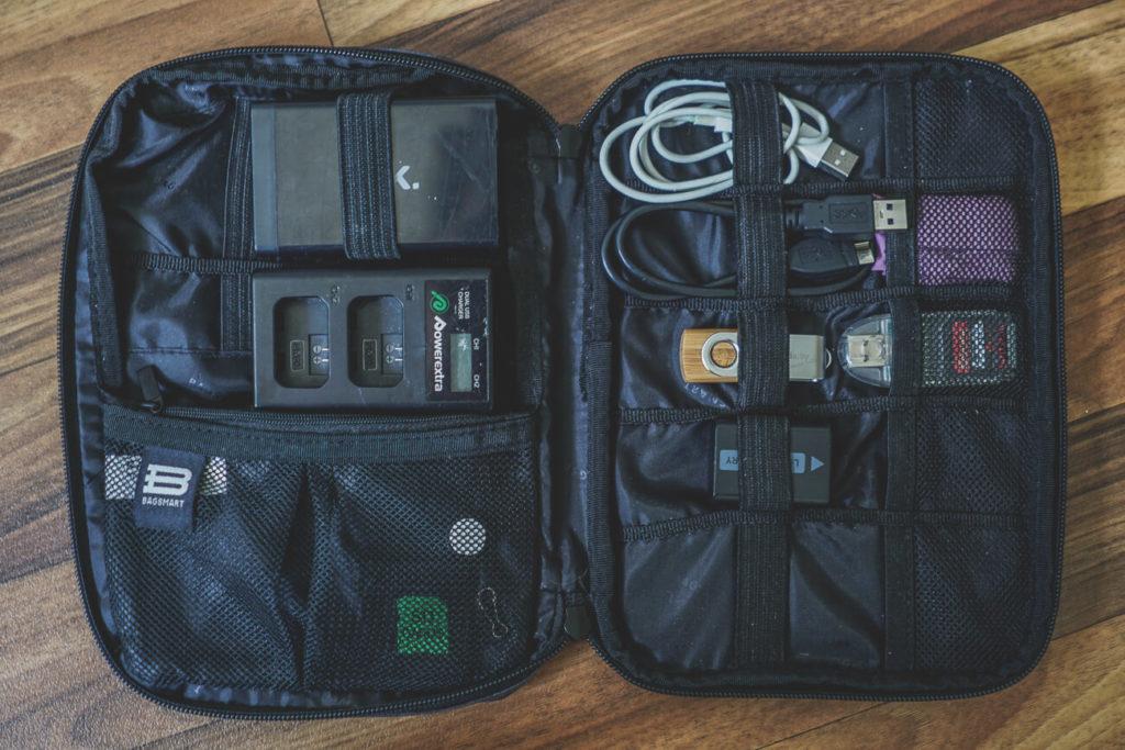 Fotoausrüstung für Reisen Organizer Tasche