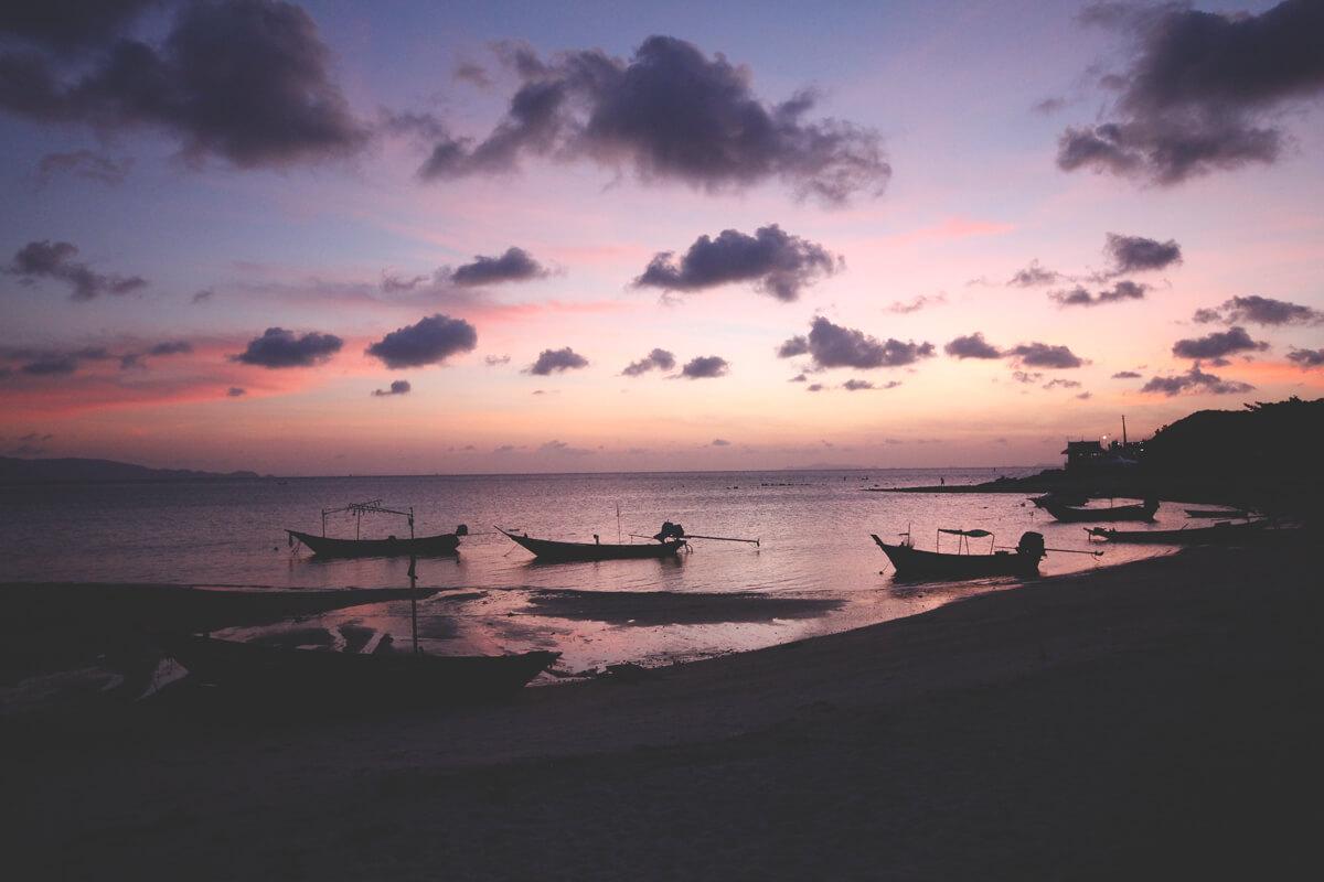 sonnenuntergang-koh-phangan-thailand-strand