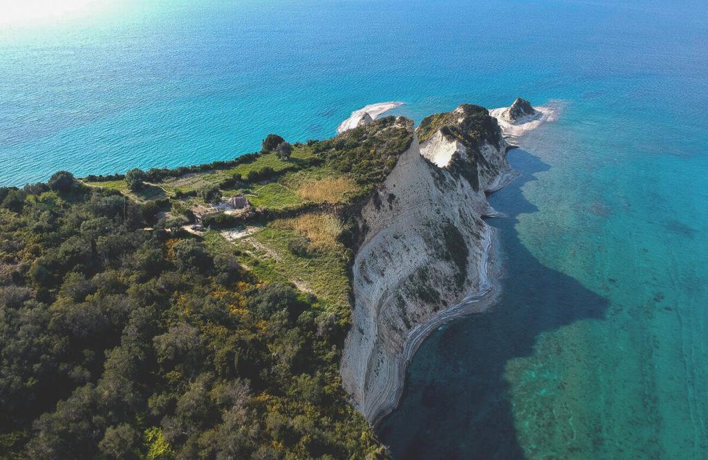 Kap-Drastis-Korfu-Drohnenaufnahme-Meer-Aussicht (1)
