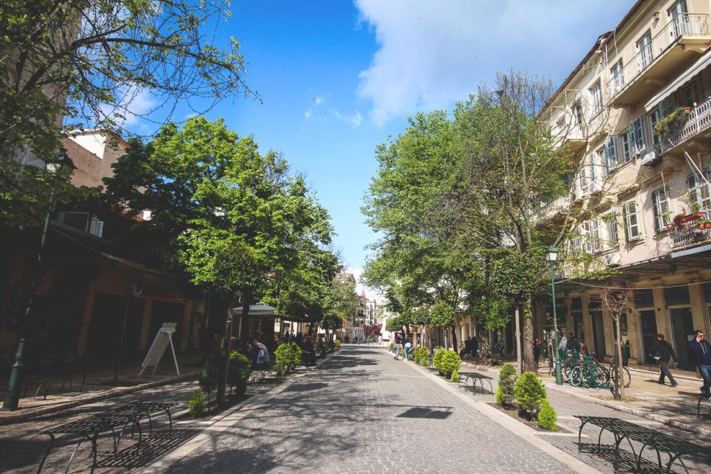 Korfu-Stadt-Kerkyra-Altstadt-Schlendern