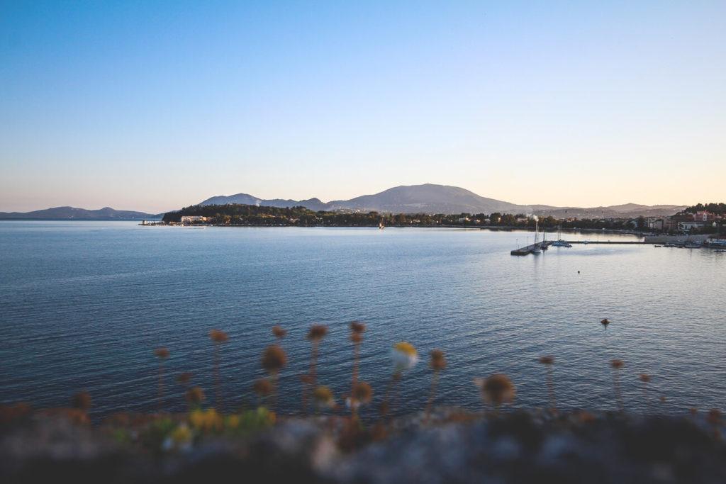 Korfu-Urlaub-Alte-Festung-Sonnenuntergang