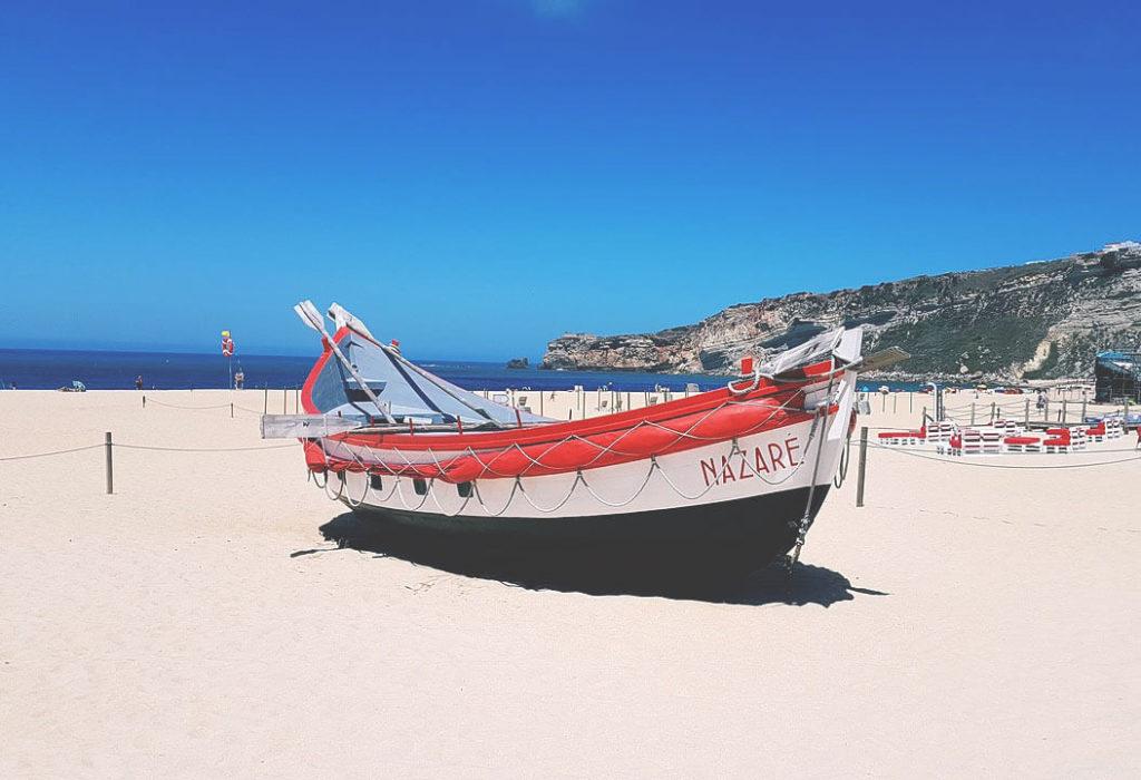 Rundreise-Portugal-Route-Nazare-Kueste-Strand