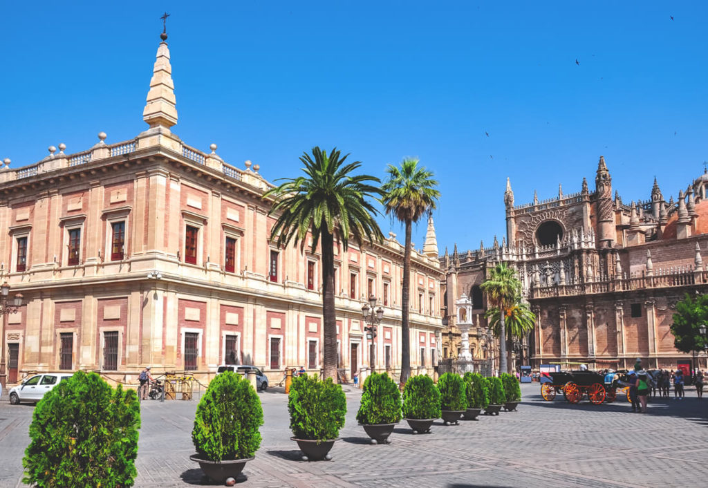 Archivo-General-de-Indias-Sevilla-Sehenswuerdigkeiten