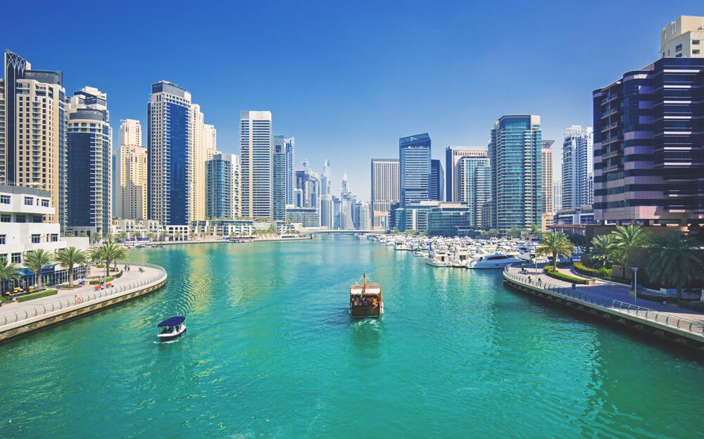 Dubai Highlights Dubai Marina Hafen