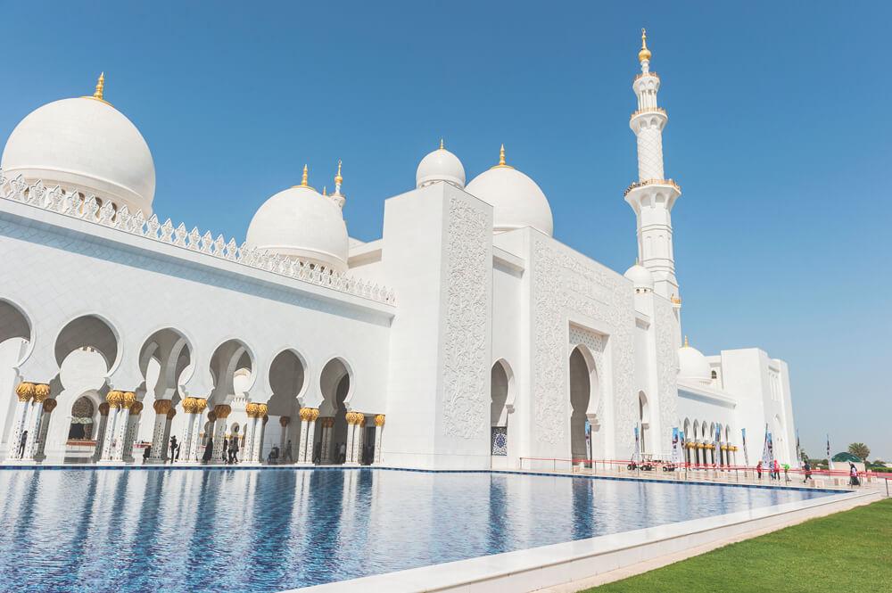 Jumeirah-Moschee-Dubai-Sehenswuerdigkeiten
