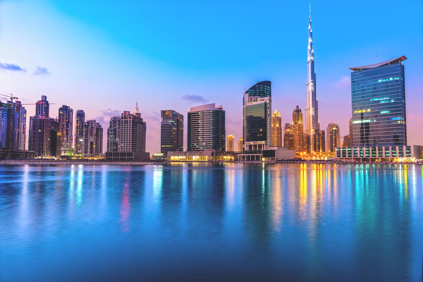 Dubai Highlights und Sehenswürdigkeiten Skyline