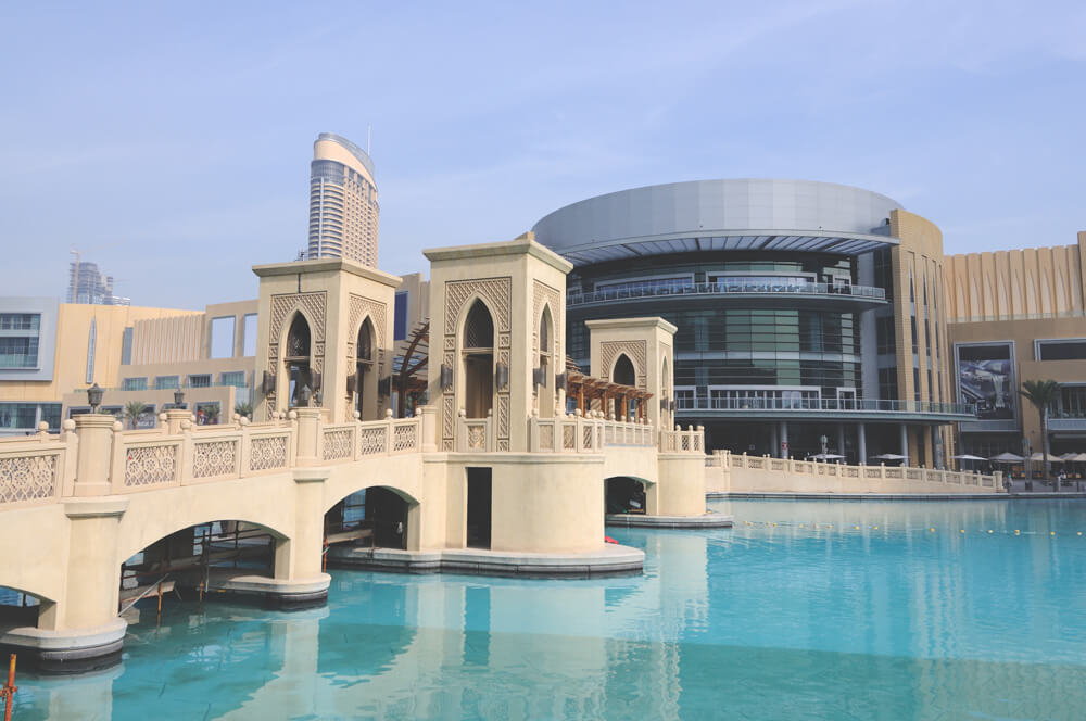 Dubai Sehenswürdigkeiten Einkaufszentrum Dubai Mall