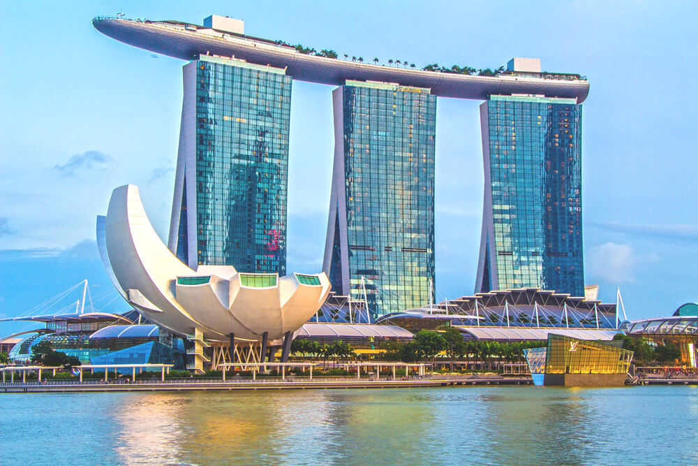 Highlights Singapur Marina Bay Sands Hotel