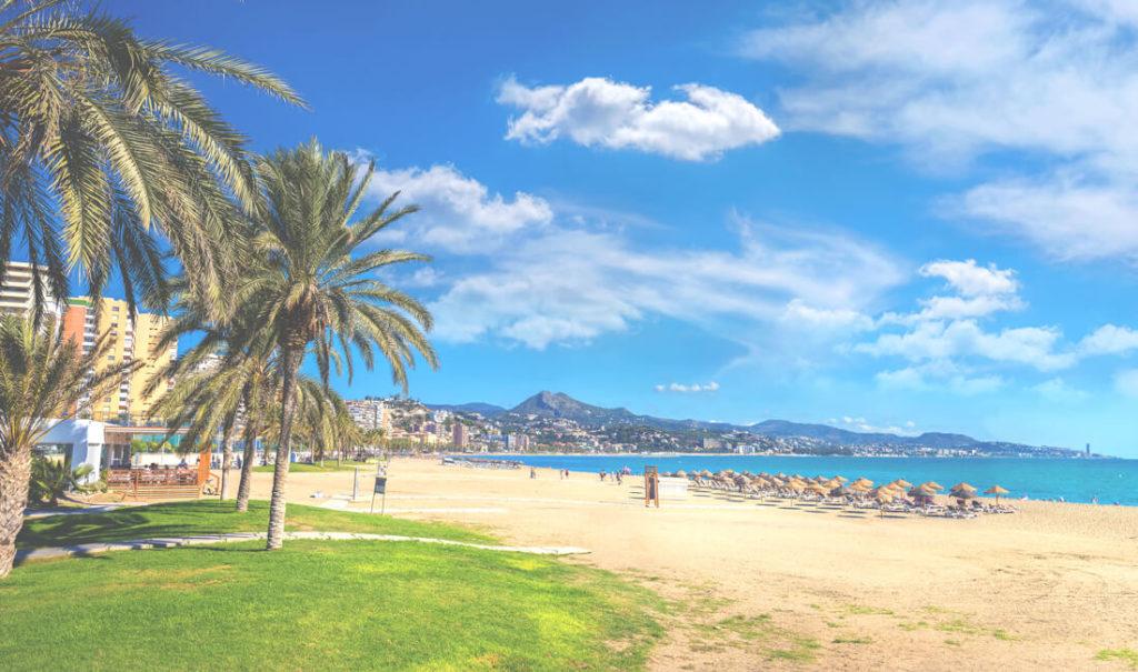 Playa de La Malagueta – Der Stadtstrand Malagas