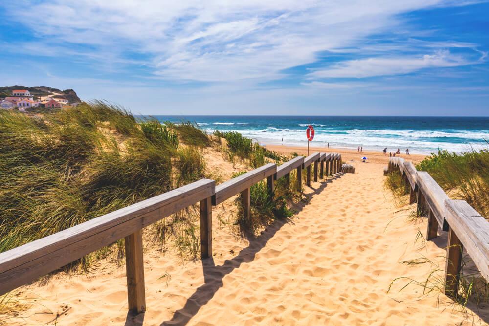 schönsten Strände in Portugal Praia de Monte Clerigo Algarve