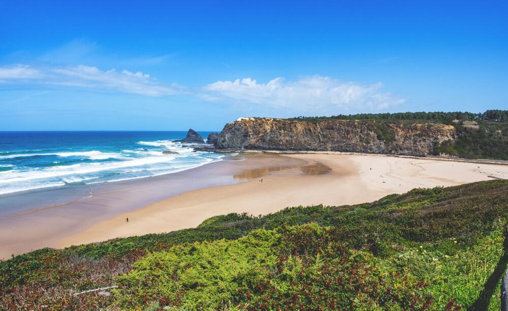 Strand Portugal Praia de Odeceixe