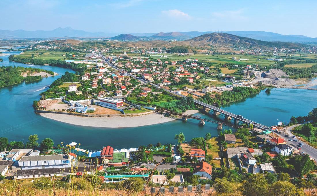 sehenswuerdigkeiten-albanien-shkodra-aussicht-bruecke