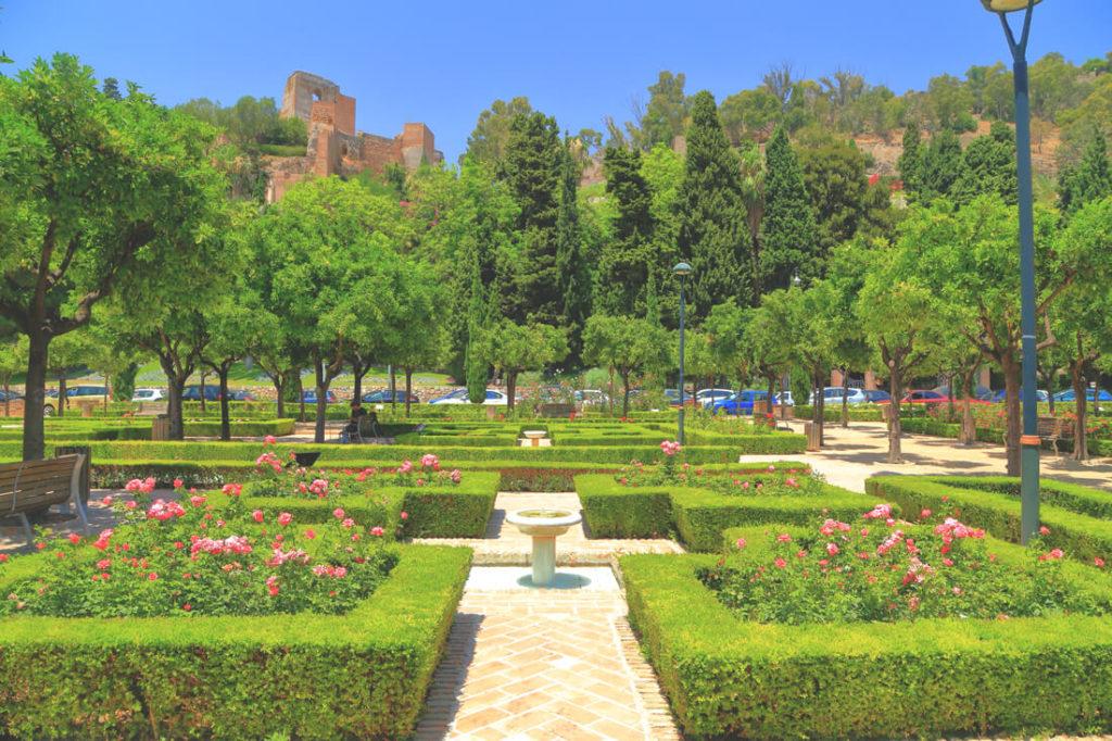 Malaga Sehenswürdigkeiten Stadtpark
