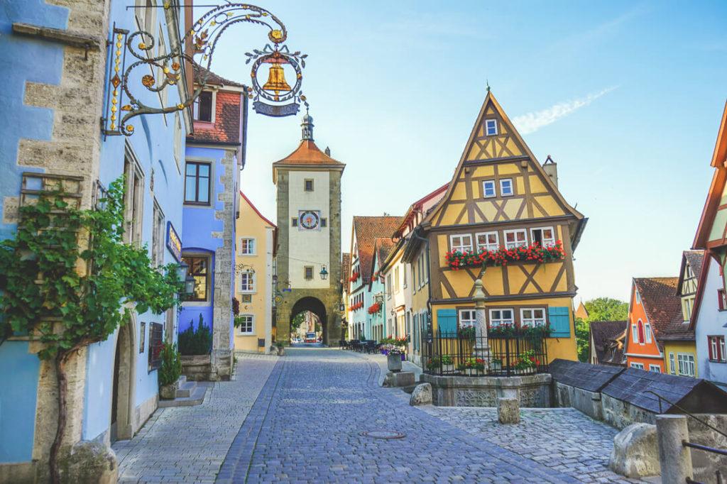 Sehenswürdigkeiten in Rothenburg ob der Tauber Plönlein