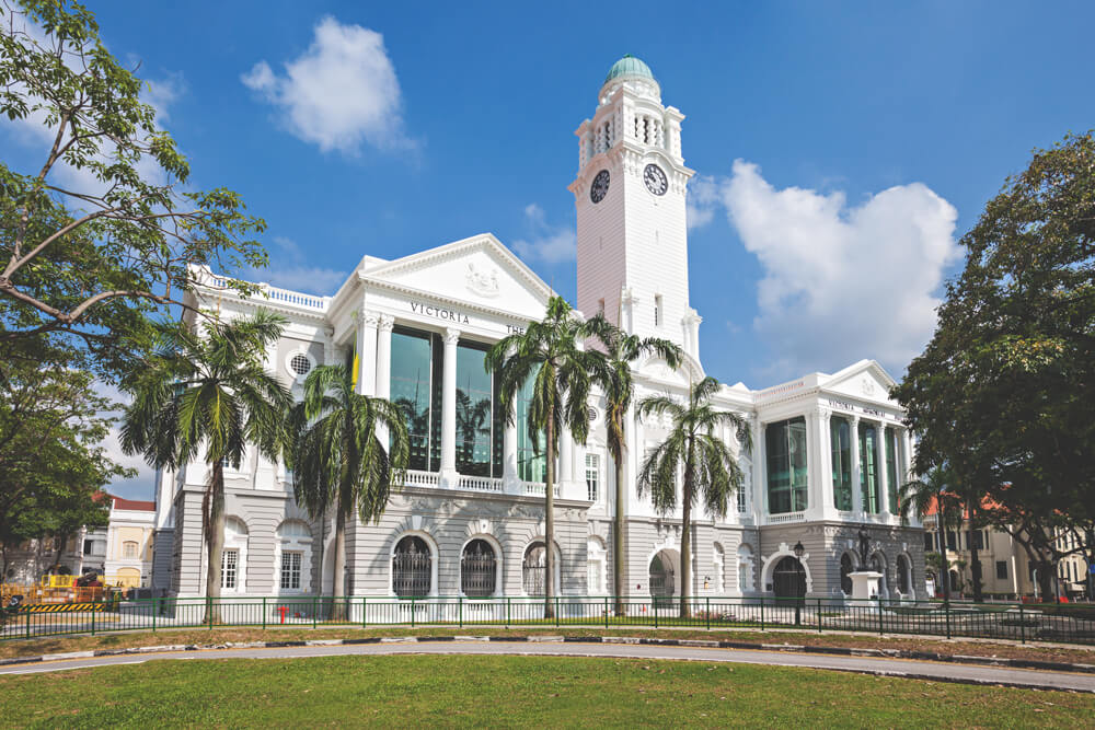 Singapur Sehenswürdigkeiten Victoria Theater