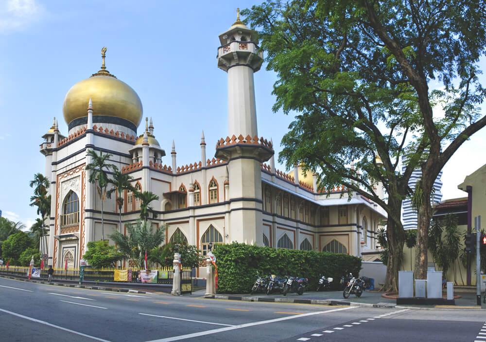 Sultan Moschee in Singapur
