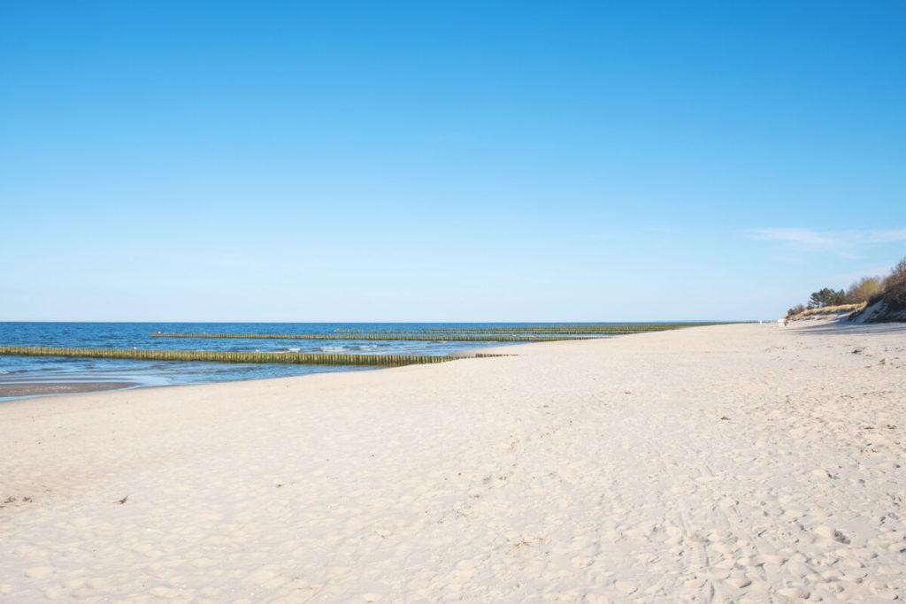 Insel-Usedom-Bernsteinbad-Zempin-Strand-Ostsee
