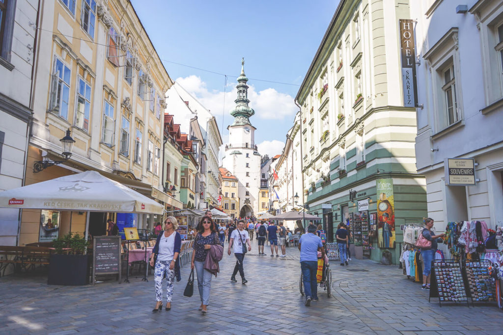 Shopping Slowakei Bratislava Kosten