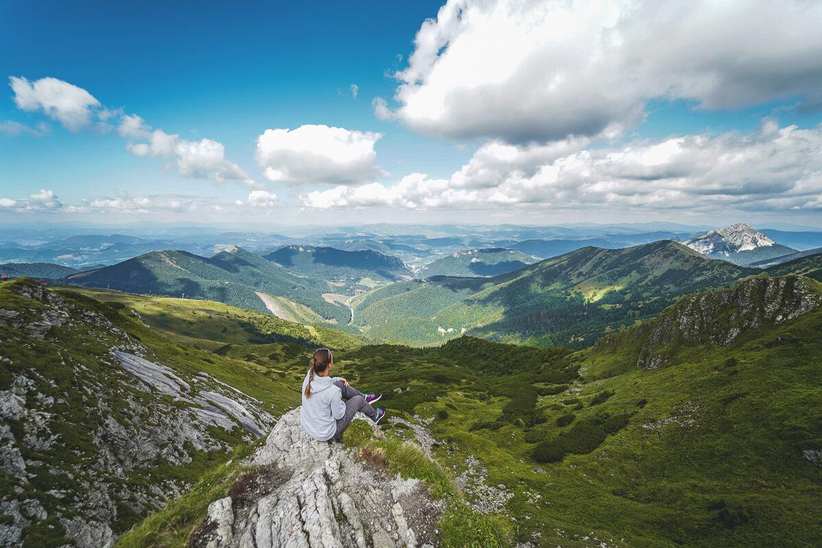 Nationalpark Mala Fatra Slowakei Kammwanderung