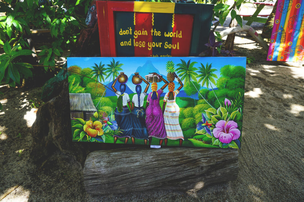 Placencia-Belize-Shopping-Souvenirs-Bilder