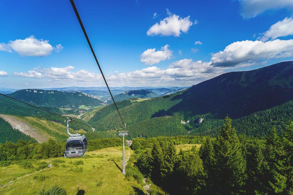 Seilbahn-Vratna-Chleb-Slowakei-Wanderung
