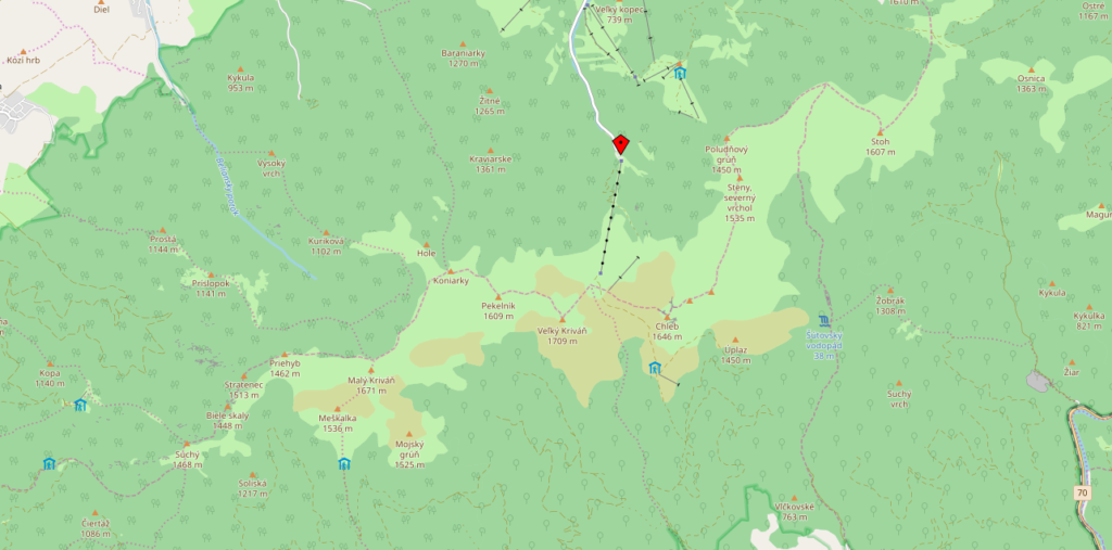 Slowakei-Nationalpark-Mala-Fatra-Openstreetmaps