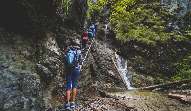 Slowakisches Paradies – Wanderung durch die Schlucht Sucha Belá