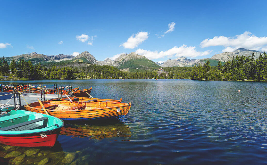 Štrbské Pleso – Der schöne Bergsee in der Hohen Tatra