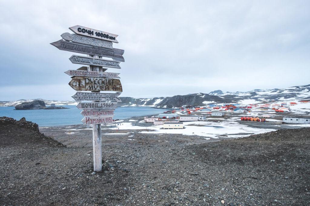 Antarktisbasis-Antarktis-Reise-Ankunft