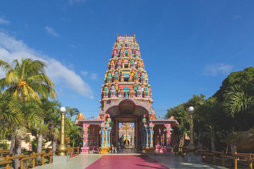 Sehenswürdigkeiten in Port Louis der Kailassam Tempel